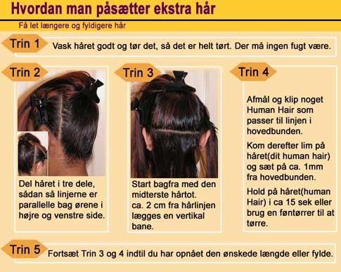 hair extensions trenser